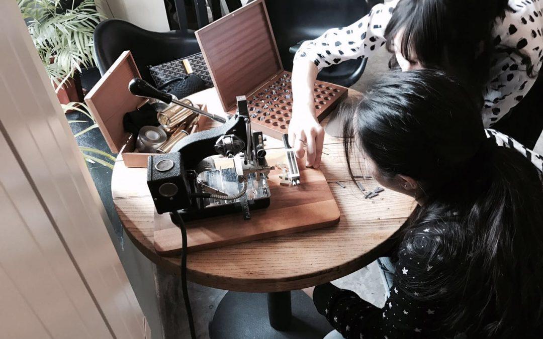 HoK Parents Leather Craft Workshop!