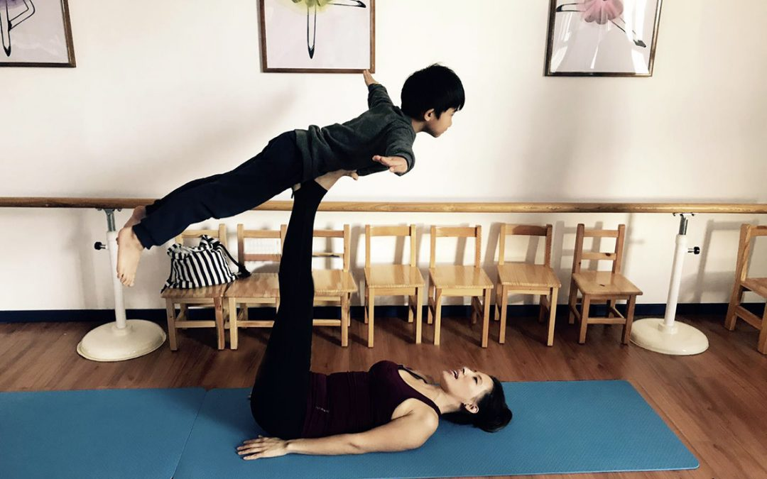 Concentration and Trust-How yoga helps House of Knowledge students