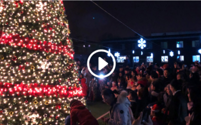 The Inaugural HoK Christmas Tree Lighting Ceremony!