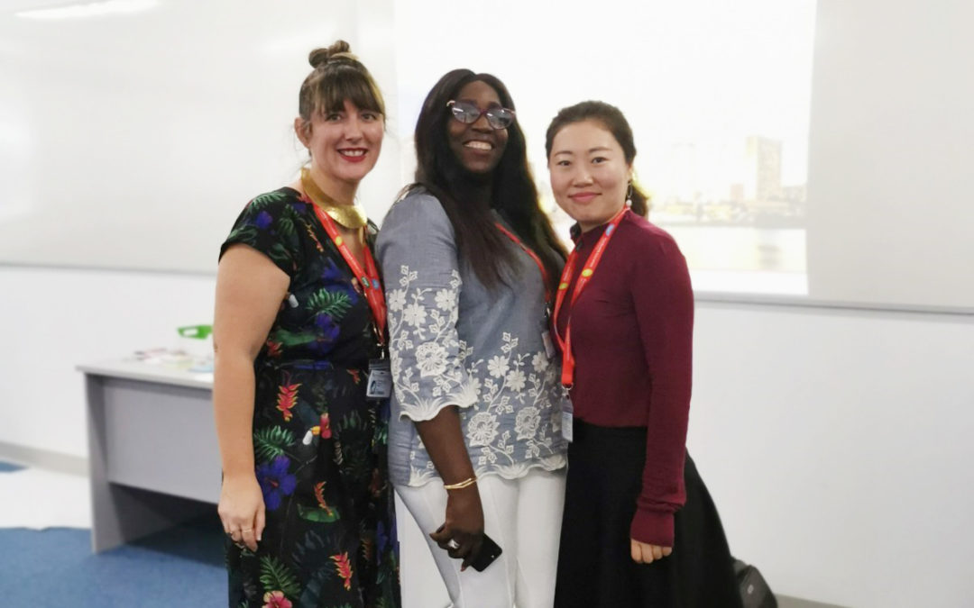 Principal Anna Williams and Lily Liu Attended the International Curriculum Conference